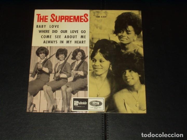 SUPREMES EP BABY LOVE+3 (Música - Discos de Vinilo - EPs - Funk, Soul y Black Music)