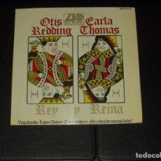 Discos de vinilo: OTIS REDDING CARLA THOMAS EP REY Y REINA. Lote 225508765