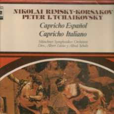 Discos de vinilo: DISCO. LP VINILO. NIKOLAI RIMSKY - KORSAKOV. CAPRICHO ESPAÑOL. ZAFIRO ZTV 1.(ST/DS6). Lote 225515920