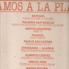 Discos de vinilo: DISCO. LP VINILO. VAMOS A LA PLAYA. VOL. 4. HISPAVOX 1983. (ST/DS6). Lote 225516465