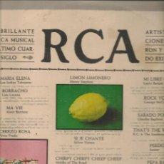 Discos de vinilo: DISCO. LP VINILO. RCA. ARTISTAS Y CANCIONES QUE FUERON Y SIGUEN SIENDO ÉXITOS. 2 DISCOS. (ST/DS6). Lote 225517060