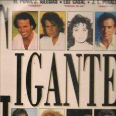 Discos de vinilo: DISCO. LP VINILO. GIGANTES. DOBLE LP. SONY MUSIC. (ST/DS6). Lote 225517263