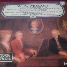 Discos de vinilo: W. A. MOZART. Lote 225540365
