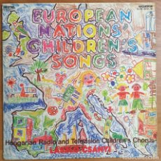 Discos de vinilo: LP EUROPEAN NATIONS' CHILDREN'S SONGS. Lote 225553856