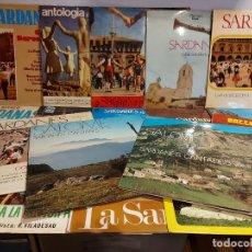 Discos de vinilo: SARDANAS !! INTERESANTE COJUNTO DE 19 VINILOS LP / DE BUENA CALIDAD. ***/***ENVÍO INCLUIDO !!. Lote 225580910