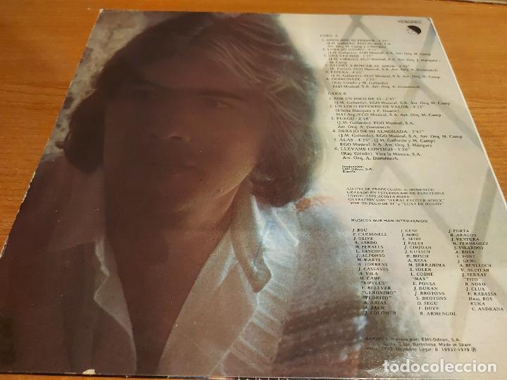 Discos de vinilo: MIGUEL GALLARDO / POR UN POCO DE TI / LP - EMI-1979 / MBC. ***/*** - Foto 2 - 225586896