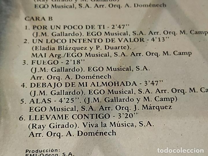 Discos de vinilo: MIGUEL GALLARDO / POR UN POCO DE TI / LP - EMI-1979 / MBC. ***/*** - Foto 4 - 225586896