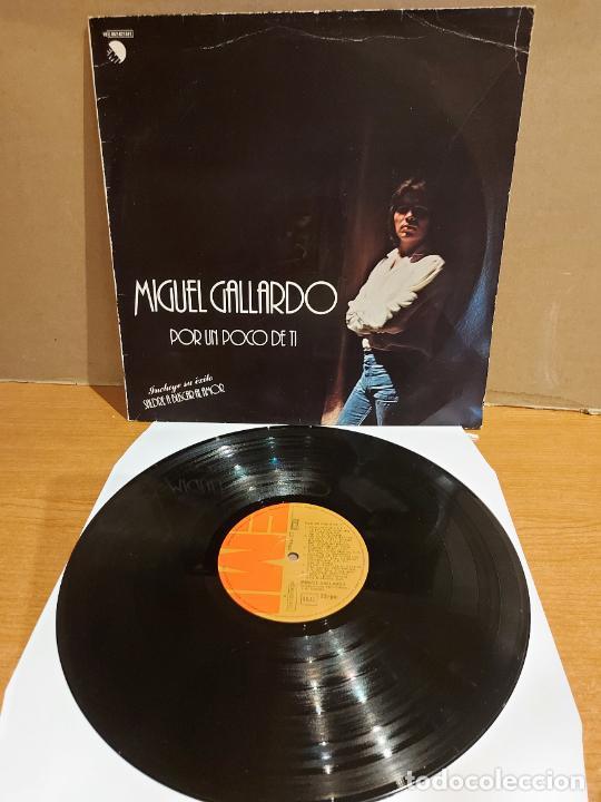 MIGUEL GALLARDO / POR UN POCO DE TI / LP - EMI-1979 / MBC. ***/*** (Música - Discos - LP Vinilo - Solistas Españoles de los 70 a la actualidad)