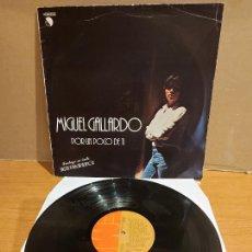 Discos de vinilo: MIGUEL GALLARDO / POR UN POCO DE TI / LP - EMI-1979 / MBC. ***/***. Lote 225586896