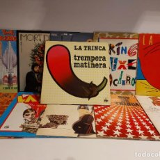 Discos de vinilo: LA TRINCA !! INTERESANTE CONJUNTO DE 11 VINILOS LP / DE BUENA CALIDAD. ***/*** ENVÍO INCLUIDO !!. Lote 225597015