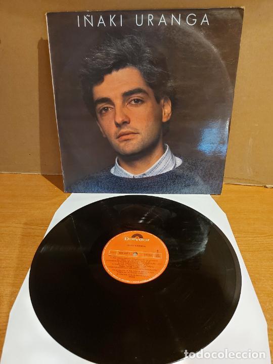 IÑAKI URANGA / MISMO TÍTULO / LP - POLYDOR-1986 / MBC. ***/*** (Música - Discos - LP Vinilo - Solistas Españoles de los 70 a la actualidad)