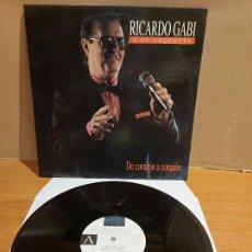 Discos de vinilo: RICARDO GABI Y SU ORQUESTA / DE CORAZÓN A CORAZÓN / LP - PICAP-1992 / MBC. ***/*** DIFÍCIL.. Lote 225601655