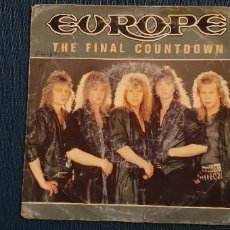 Discos de vinil: EUROPE – THE FINAL COUNTDOWN SELLO: EPIC ‎– EPCA 7127, EPIC ‎– EPC A 7127 FORMATO: VINYL, 7. Lote 225605505