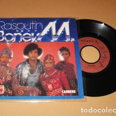 Discos de vinilo: BONEY M. - RASPUTIN - SINGLE - 1979. Lote 225612320