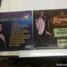 Discos de vinilo: 2 LPS ENGELBERT HUMPERDINCK - LIVE AND SRO AT THE RIVIERA HOTEL LAS VEGAS Y HIS GREATEST HITS 1971. Lote 225636450