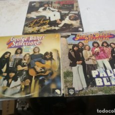 Discos de vinilo: 3 LPS GEORGE BAKER SELECTION: PALOMA BLANCA, A SONG FOR YOU Y 5 JAAR HITS. Lote 225637030