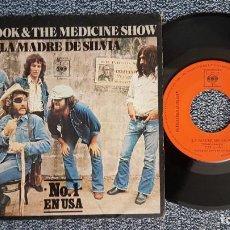 Discos de vinilo: DR. HOOK & THE MEDICINE SHOW - LA MADRE DE SILVIA / HACIÉNDOLO NATURAL. AÑO 1.972. EDITADO POR CBS. Lote 225637570
