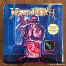 Discos de vinilo: MEGADETH - HANGAR 18 - SINGLE CAPITOL UK 1991 - SIN PARCHE. Lote 225709180