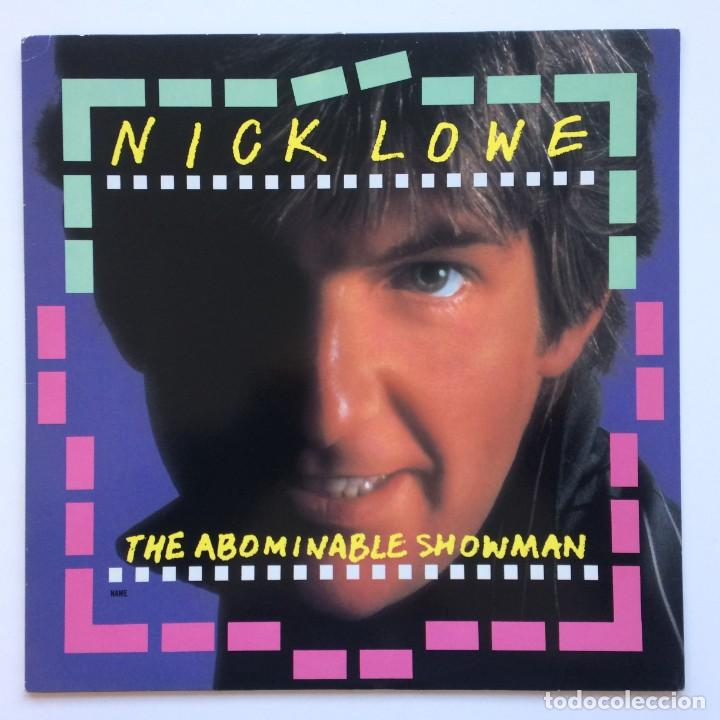 NICK LOWE ‎– THE ABOMINABLE SHOWMAN JAPAN,1983 F-BEAT (Música - Discos - LP Vinilo - Pop - Rock - New Wave Internacional de los 80)