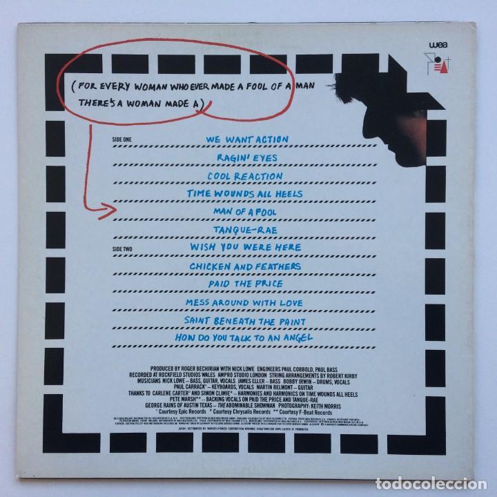 Discos de vinilo: Nick Lowe – The Abominable Showman Japan,1983 F-Beat - Foto 2 - 225711028