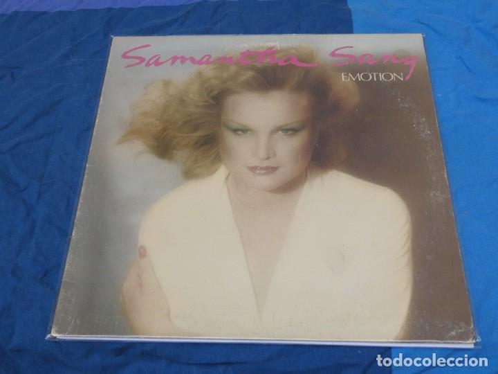 LO9899 LP SA,MANTHA LANG EMOTION USA 1978 LEVES SEÑALES DE USO (Música - Discos - LP Vinilo - Pop - Rock - Internacional de los 70)