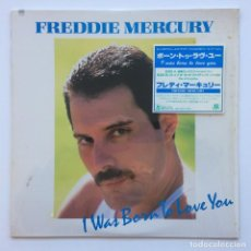 Discos de vinilo: FREDDIE MERCURY ‎– I WAS BORN TO LOVE YOU JAPAN,1985 CBS/SONY. Lote 225738010