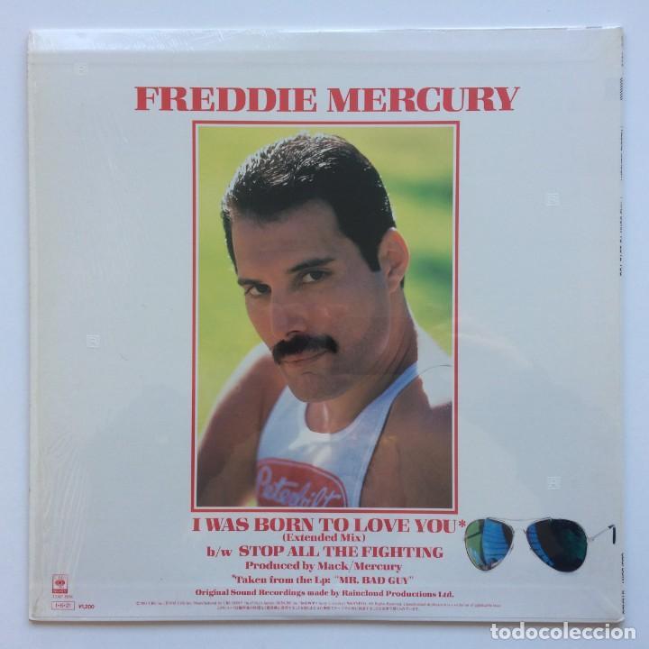 Discos de vinilo: Freddie Mercury – I Was Born To Love You Japan,1985 CBS/Sony - Foto 2 - 225738010