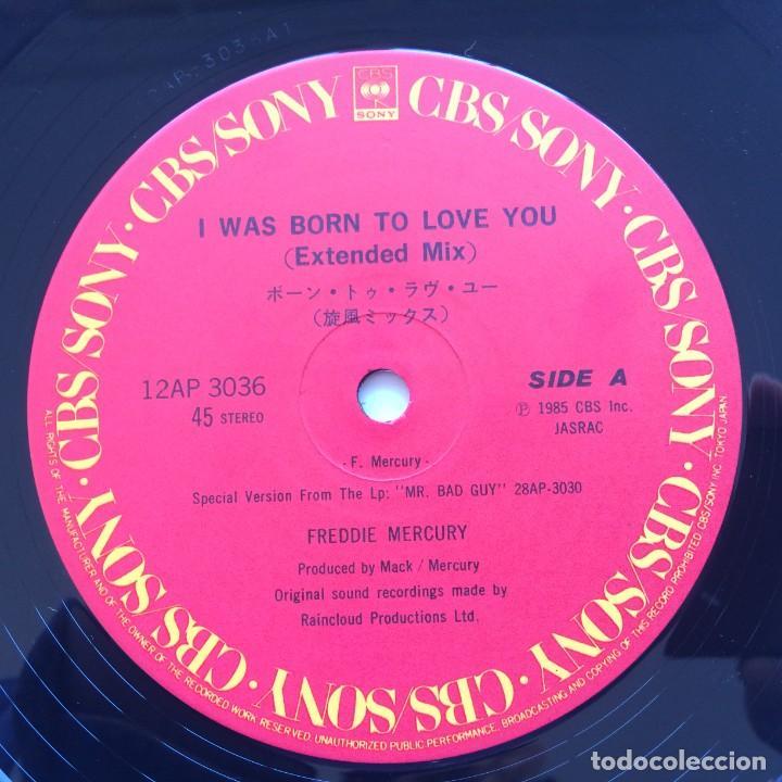 Discos de vinilo: Freddie Mercury – I Was Born To Love You Japan,1985 CBS/Sony - Foto 4 - 225738010
