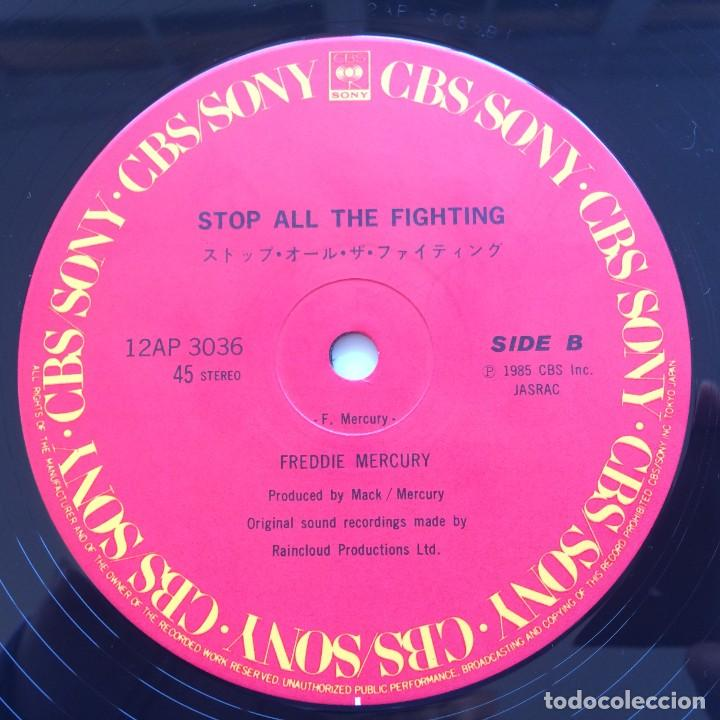 Discos de vinilo: Freddie Mercury – I Was Born To Love You Japan,1985 CBS/Sony - Foto 5 - 225738010