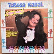 Discos de vinilo: TERESA RABAL - CAN CAN - 1984 LP. Lote 225775925