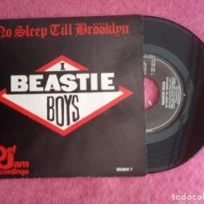 Discos de vinilo: SINGLE BEASTIE BOYS - NO SLEEP TILL BRÖÖKLYN - DEF 650841 7 - SPAIN PRESS PROMO (EX/NM) 1 SIDED. Lote 225777055