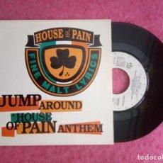 Discos de vinilo: SINGLE HOUSE OF PAIN - JUMP AROUND / HOUSE OF PAIN ANTHEM - 1G04881 - SPAIN PRESS PROMO (EX+/NM). Lote 225778427