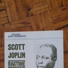 Discos de vinilo: SCOTT JOPLIN – RAGTIME PIONEER (1899-1914) SELLO: RIVERSIDE RECORDS – RM 8815 FORMATO: VINYL, LP,. Lote 225784860