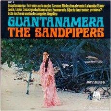 Discos de vinilo: THE SANDPIPERS - GUANTANEMERA - LP SPAIN 1966 - A&M RECORDS HDA 371-04. Lote 225825440