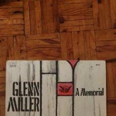 Discos de vinilo: A MEMORIAL FOR GLENN MILLER : VOL 1 Y VOL 2 - 3 LPS. Lote 225843756