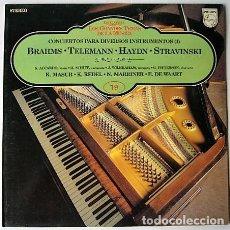 Discos de vinilo: LOS GRANDES TEMAS DE LA MÚSICA 19. Lote 225867970