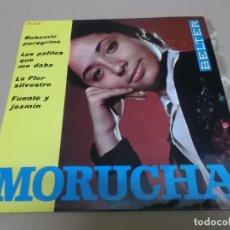Discos de vinilo: MORUCHA (EP) BOHEMIO PEREGRINO AÑO 1963. Lote 225885716
