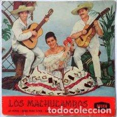 Discos de vinilo: LOS MACHUCAMBOS -AY PEPITO ! / NEGRA MARIA ESTHER / DIMELO EN SEPTIEMBRE /LUNA DE BENIDORM - EP 1960. Lote 225892045