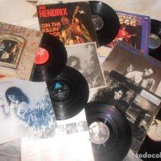 Discos de vinil: LOTE 6 LP JIMI HENDRIX JEFF BECK BREAD PATTI SMITH U2..MITOS BLUES, PUNK, RAREZAS, OCASIÓN. Lote 225901365