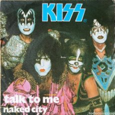 Discos de vinilo: SINGLE KISS. Lote 225903770