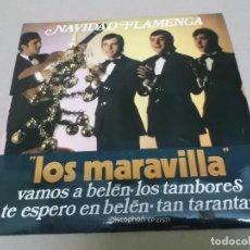 Discos de vinilo: LOS MARAVILLA (EP) VAMOS A BELEN AÑO 1971. Lote 225903876