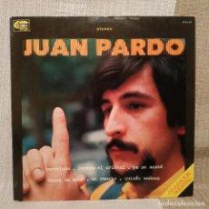 Discos de vinilo: JUAN PARDO - BARCELONA - MUY RARO Y ESCASO LP SELLO COBRA SCAL-23 DEL AÑO 1978 EN MUY BUEN ESTADO. Lote 225907015