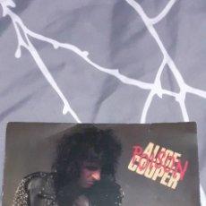 Discos de vinilo: ALICE COOPER POISON + TRASH. Lote 225945176