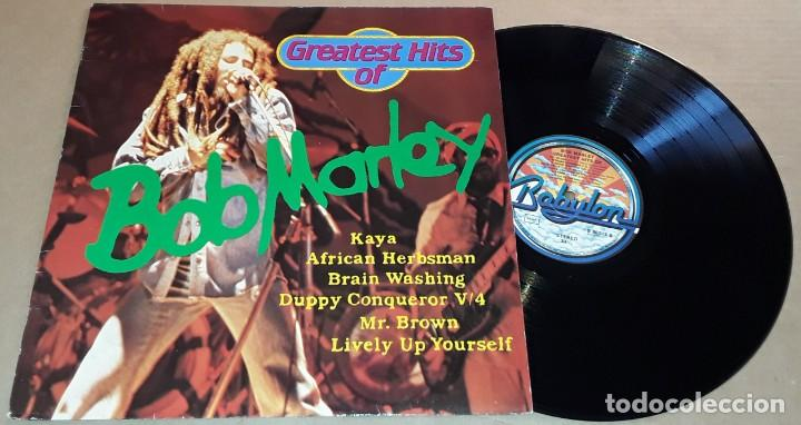 LP - BOB MARLEY - GREATEST HITS OF - MADE IN GERMANY - GREATEST HITS OF BOB MARLEY (Música - Discos de Vinilo - EPs - Reggae - Ska)