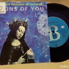 Discos de vinilo: JAH WOBBLE´S - INVADERS OF THE HEART. Lote 225960138