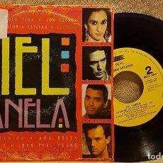 Disques de vinyle: PIEL CANELA - ROSARIO - SABOR SABOR - JON SECADA - OTRO DIA MAS SIN VERTE. Lote 225963000
