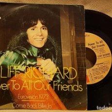 Discos de vinilo: CLIFF RICHARD - POWER TO ALL OUR FRIENDS - EUROVISION 73. Lote 225964980
