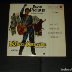 Discos de vinilo: ELVIS PRESLEY EP KING CREOLE+3. Lote 225967380