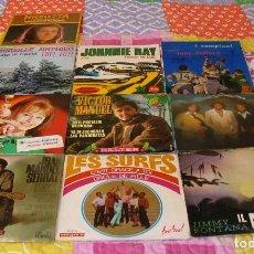 Discos de vinilo: LOTE DE 10 SINGLES AÑOS 60. Lote 225969880