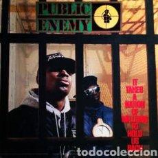 Discos de vinilo: PUBLIC ENEMY -IT TAKES A NATION OF MILLIONS TO HOLD US BACK . LP VINILO NUEVO. HIP HOP.. Lote 225970007